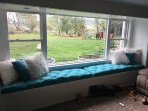 Home of Wool Tufted-Custom-Widnow-Seat-Cushions-for-Lynn
