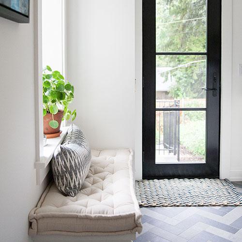 home of wool jenna rayesky bench cushion